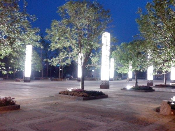 沙湖公园南广场