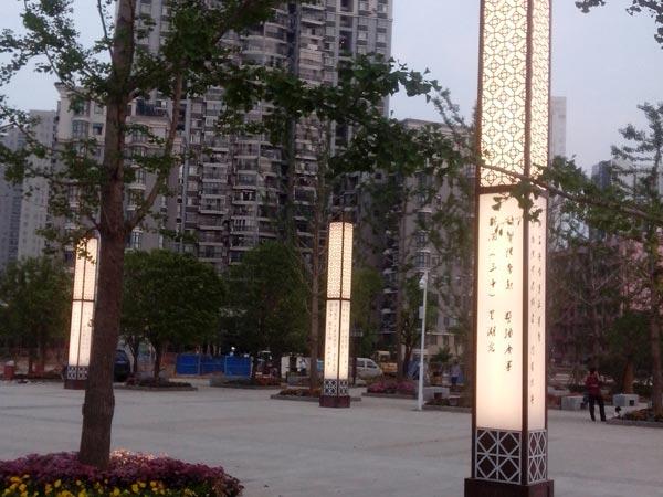 沙湖公园6米景观灯